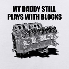 My Daddy Plays with Blocks baby stuff