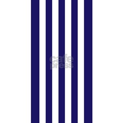 Navy blue and white vertical striped beach for Blue and white striped bathroom accessories