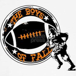 Boys of Fall Football Desgin T-Shirt