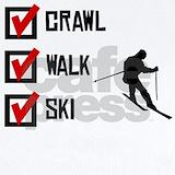 Ski Baby Bodysuits