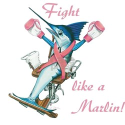 Fight like a marlin Shirt