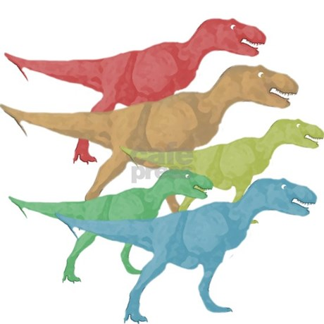 T rex family button 10 pack by dinosaurtshirts for T rex family