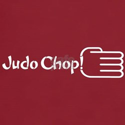 JUDO CHOP! T-Shirt Cardinal Red