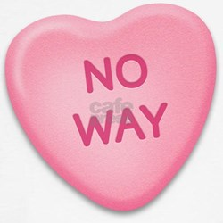 No Way Candy Heart Tee