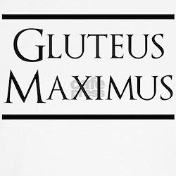 Gluteus Maximus (black) T-Shirt