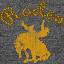 Retro Rodeo Long Sleeve Maternity T-Shirt