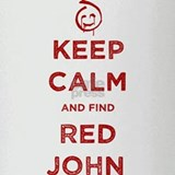 Keep Calm Red John The Mentalist Drinking Glass