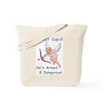Arrest Cupid Tote Bag
