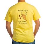 Arrest Cupid Yellow T-Shirt