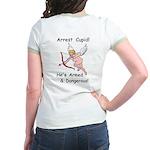 Arrest Cupid Jr. Ringer T-Shirt