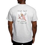 Arrest Cupid Ash Grey T-Shirt