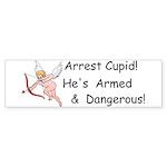 Arrest Cupid Bumper Sticker