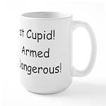 Arrest Cupid Large Mug