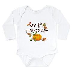 my 1st thanksgiving onesie