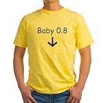 Baby 0.8 Yellow T-Shirt