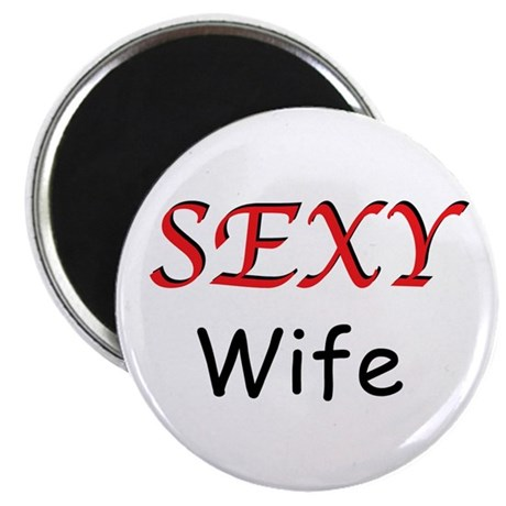 """Sexy Wife 2.25"""" Magnet (10 pack)"""