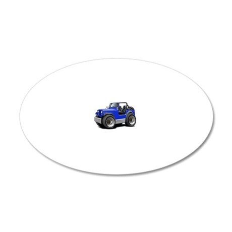 Jeep Blue Wall Decal