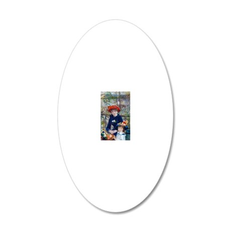 Pierre-Auguste Renoir Two Si Wall Decal