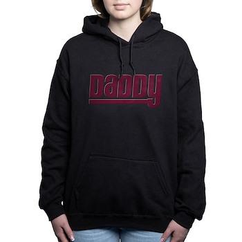 Daddy - Red Woman's Hooded Sweatshirt