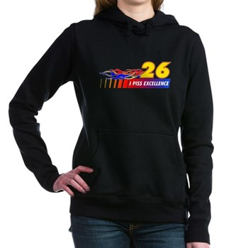 I Piss Excellence Woman's Hooded Sweatshirt