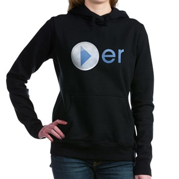 Player Woman's Hooded Sweatshirt