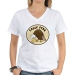 Eagle Feak Women's V-Neck T-Shirt
