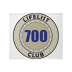 Lifelist Club - 700 Throw Blanket