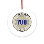 Lifelist Club - 700 Ornament (Round)
