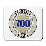 Lifelist Club - 700 Mousepad