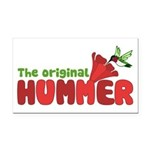 The Original Hummer Rectangle Car Magnet