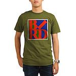 Pop Art Bird Organic Men's T-Shirt (dark)