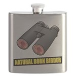 Natural Born Birder Flask