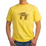 Crack for Gulls Yellow T-Shirt