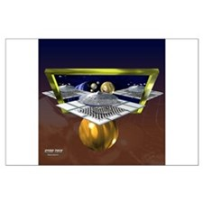 """Spaceport"" Star Trek Poster"