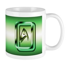 Green Star Trek Mug