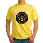 Licensed Bird Bander Yellow T-Shirt
