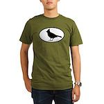 Cardinal Oval Organic Men's T-Shirt (dark)