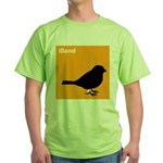 iBand (orange) Green T-Shirt