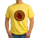 Georgia Birder Yellow T-Shirt