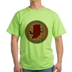 Indiana Birder Green T-Shirt