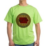 Iowa Birder Green T-Shirt