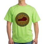 Kentucky Birder Green T-Shirt