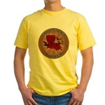 Louisiana Birder Yellow T-Shirt