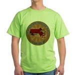 Massachusetts Birder Green T-Shirt