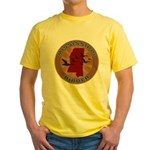 Mississippi Birder Yellow T-Shirt