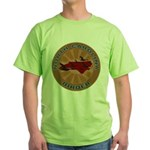 North Carolina Birder Green T-Shirt