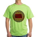 North Dakota Birder Green T-Shirt