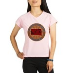 South Dakota Birder Performance Dry T-Shirt
