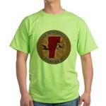 Vermont Birder Green T-Shirt