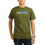 Elements of Falconry Organic Men's T-Shirt (dark)